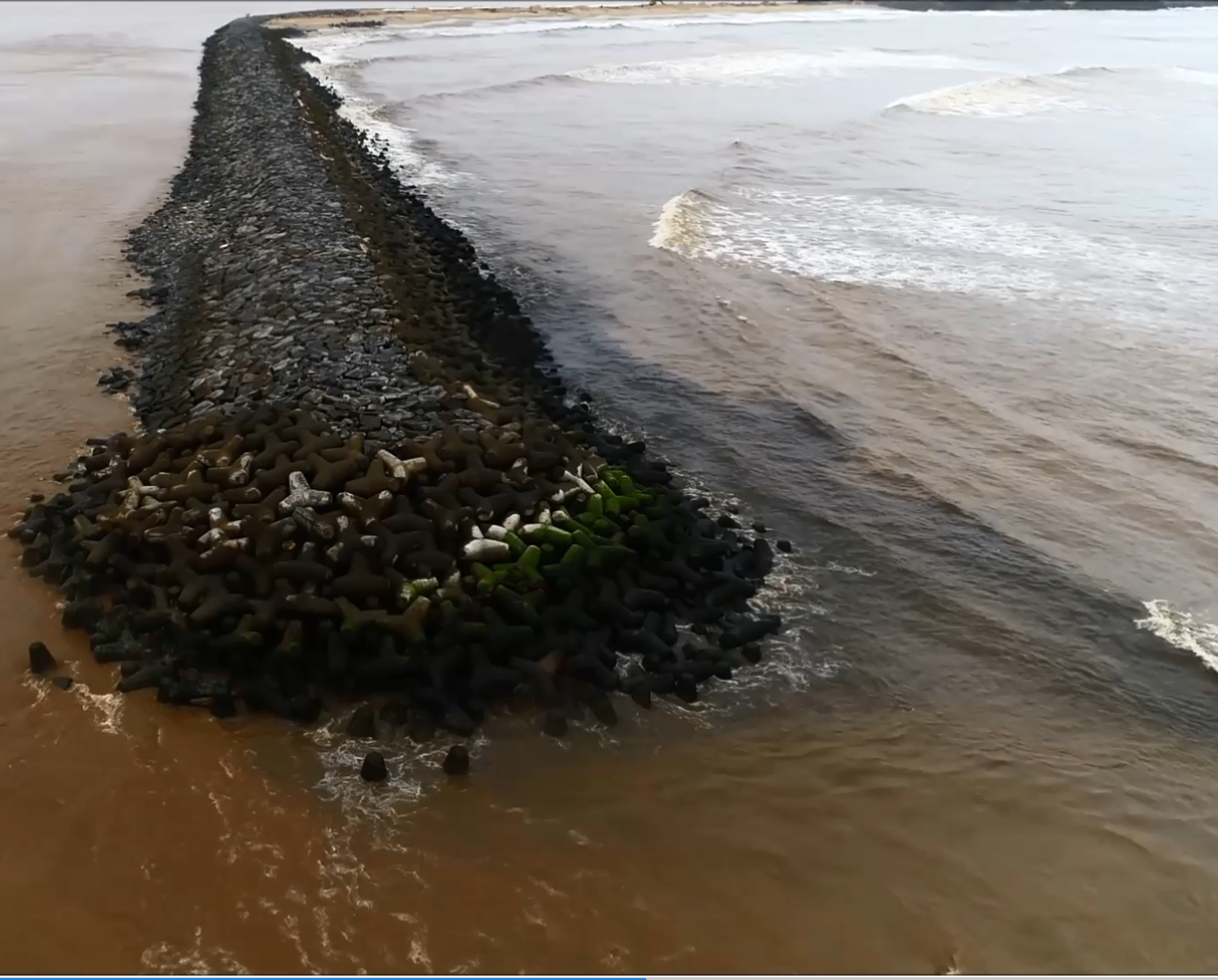 The world's largest man-made reef is now protecting the Indian city of Ullal from coastal erosion